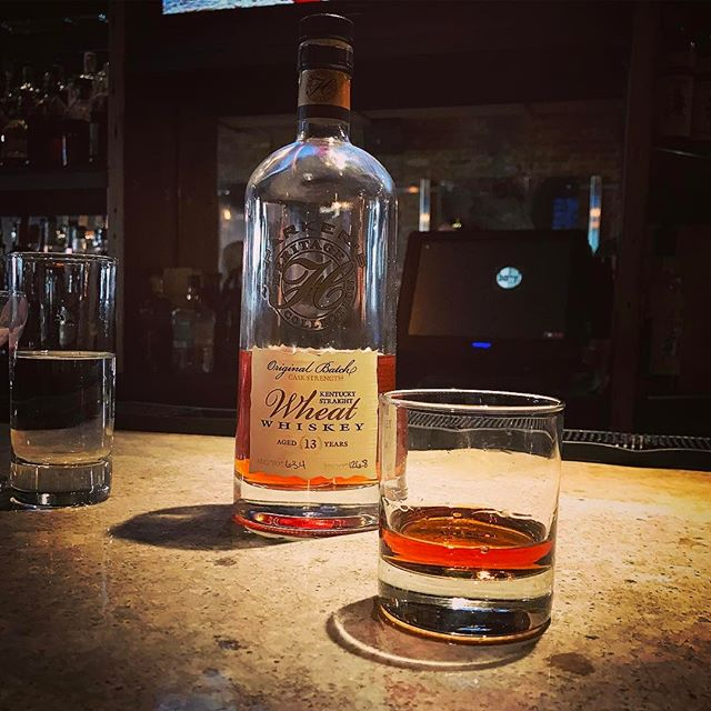An #eastersunday #latergram tasting the #parkersheritage #originalbatch #caskstrength #wheat #bourbon #whiskey @barreldc 🥃🙌🏻#instawhiskey #instabourbon #whiskeygram #bourbongram #dc #igdc