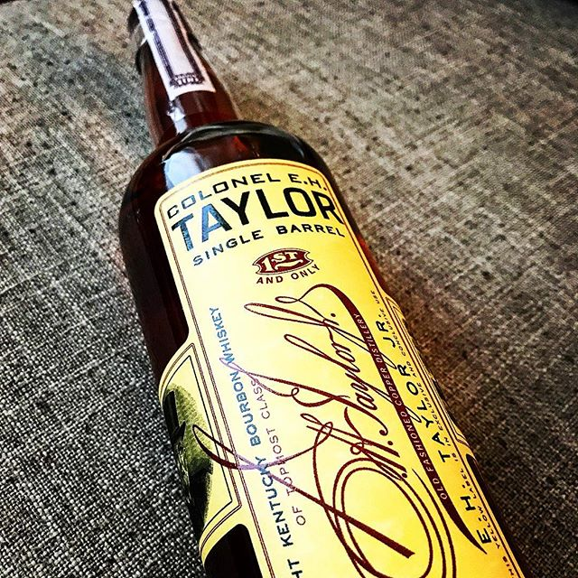 Cheers to #nationalbourbonday -- I'm cracking open one of my absolute favorite #bourbons in this #singlebarrel Colonel E. H. Taylor from @buffalotracedistillery -- my third bottle and it really is a joy to sip! 🍻🎉☝️👍 #bourbon #whiskey #bourbongram #whiskeygram #instabourbon #instawhiskey #buffalotrace #colonelehtaylor