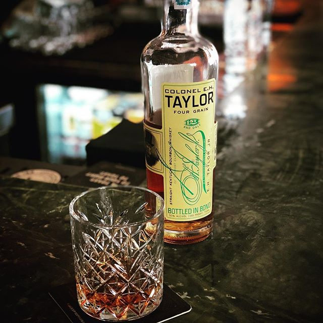 Hitting up the #colonelehtaylor #fourgrain today passing @truxtoninn this afternoon. Great spot for cocktails, bourbs, wines, and what-have-yous! 🥃👋💪 . . . #bourbon #whiskey #instabourbon #instawhiskey #bourbongram #whiskeygram #ceht #buffalotrace #goodsips #dc #dcig #bloomingdalesdc #whiskeyneat