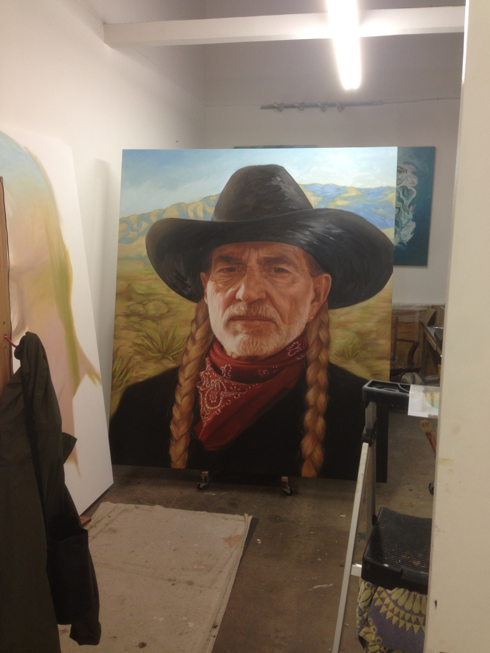 Willie, in progress