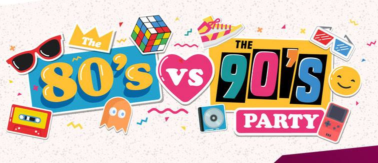 Sat Nov 17 80 vs 90's Dance Party returns to The Atlantic w/ DJ Cam 10pm / No cover, 21+ only!