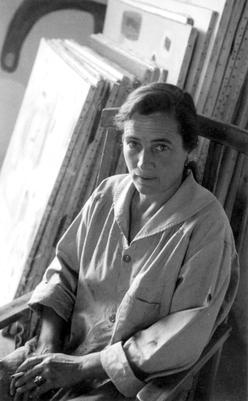 Agnes Martin, 1954