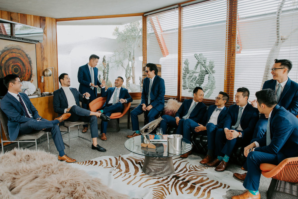Mid Century Modern Palm Springs Wedding Lautner Compound May Iosotaluno Photography 6