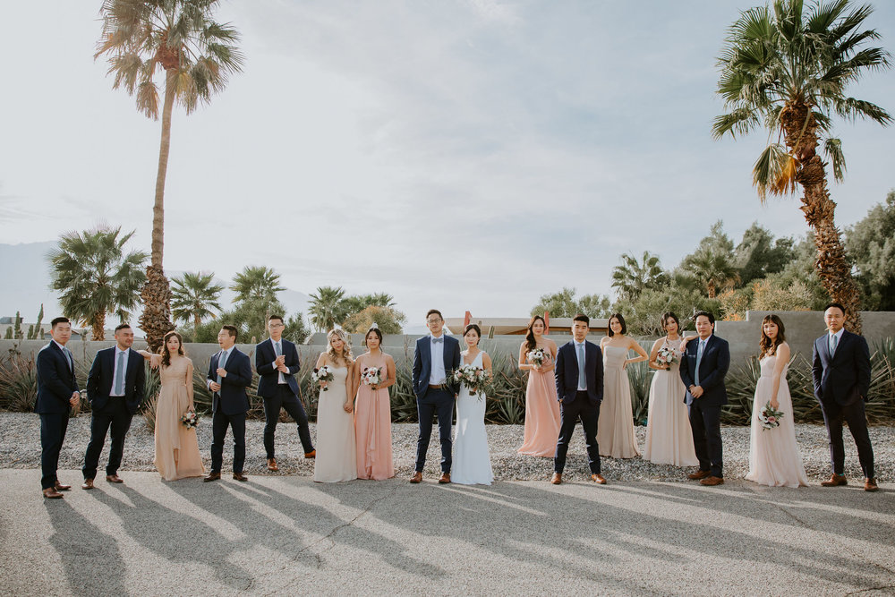 Mid Century Modern Palm Springs Wedding Lautner Compound May Iosotaluno Photography 19