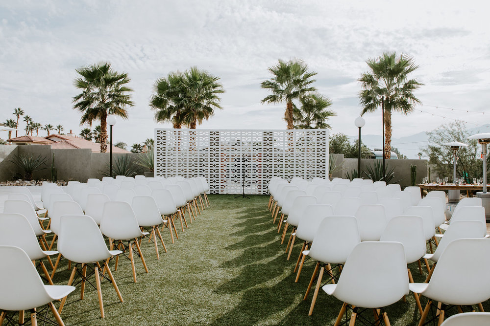 Mid Century Modern Palm Springs Wedding Lautner Compound May Iosotaluno Photography 3