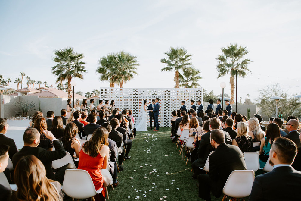 Mid Century Modern Palm Springs Wedding Lautner Compound May Iosotaluno Photography 21
