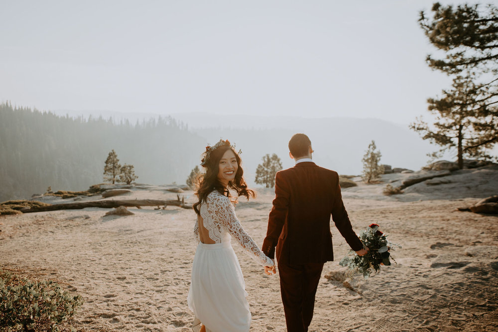 Yosemite National Park Elopement Taft Point May Iosotaluno Photography