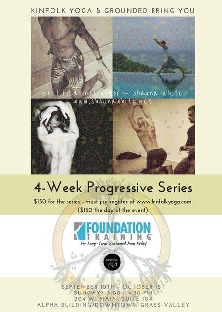 Foundation Training Kinfolk yoga Grass Valley