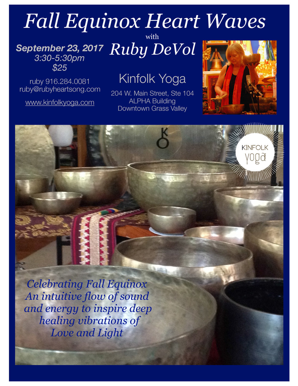 Fall Equinox Yoga Nevada City Kinfolk Yoga