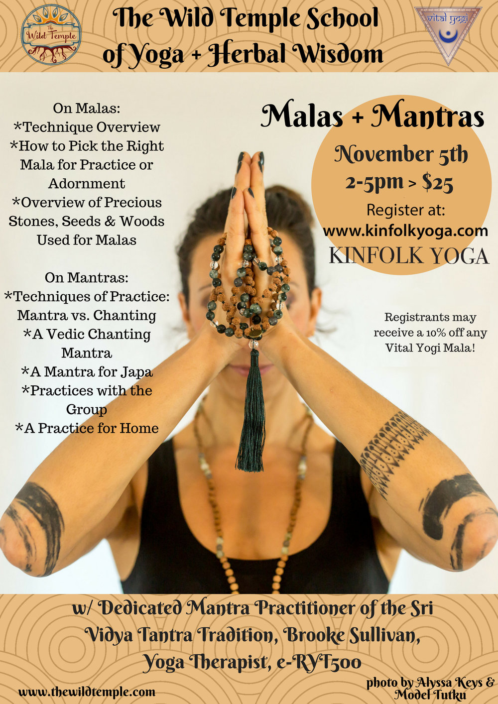 Mantras And Malas Yoga Workshop Kinfolk