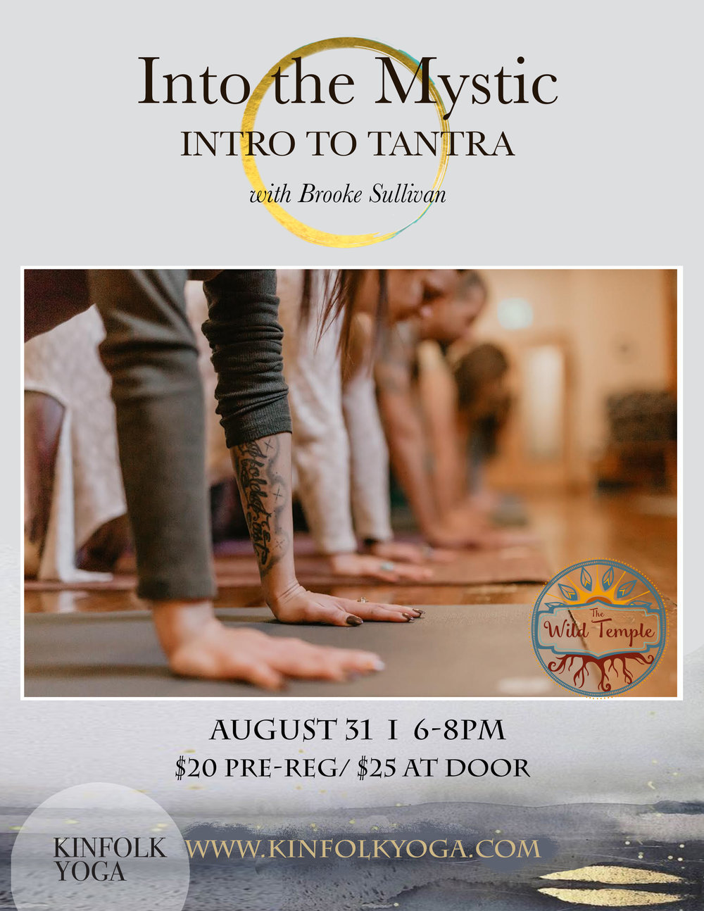 Kinfolk Tantra yoga workshop grass valley mandy lucchese