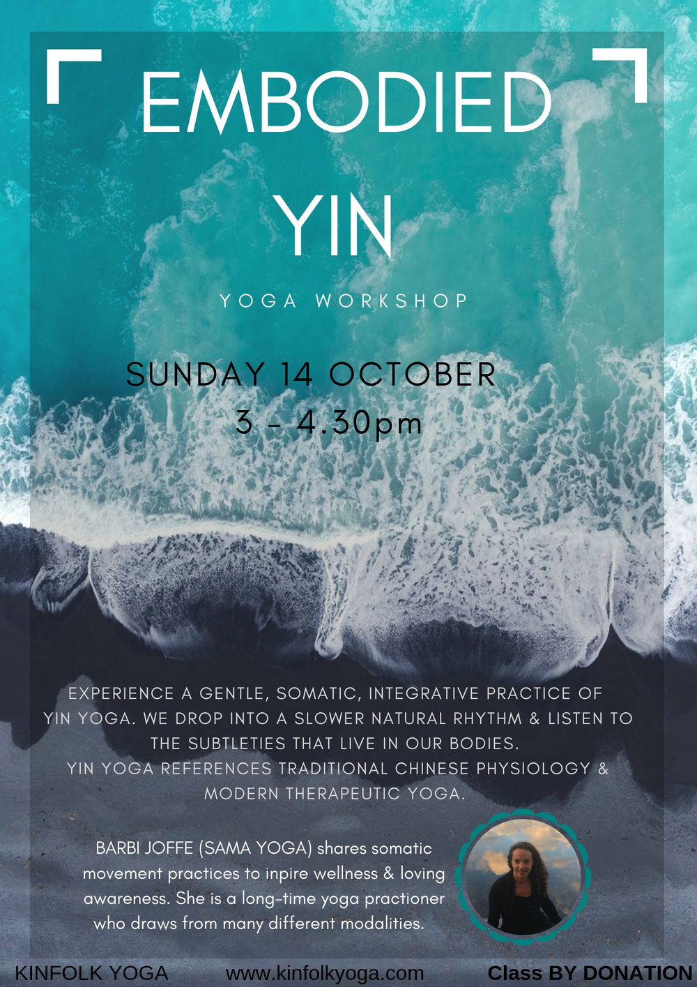Yin Yoga Kinfolk yoga Grass Valley