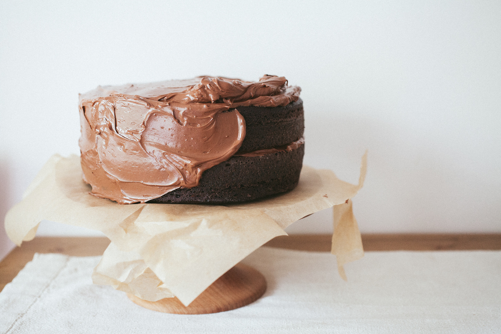 The Cake Chocolate Birthday Cake With Chocolate Buttercream