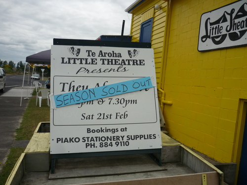 Sold out Te Aroha..