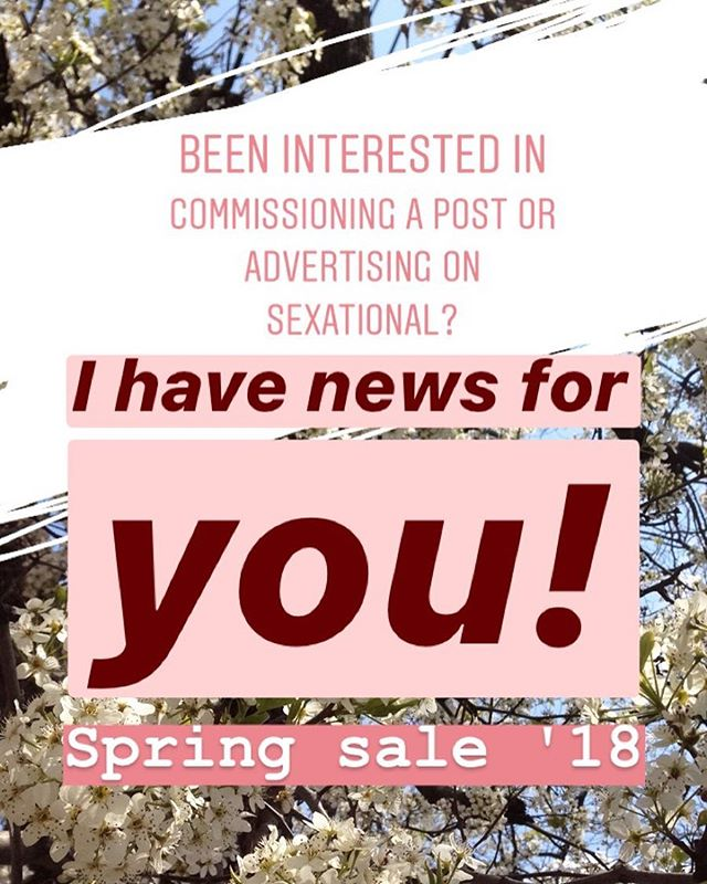 Hey companies! I'm doing a spring sale that will end on my birthday, May 1st, to celebrate myself, spring, and new beginnings. See the next post for just some examples of what I'm offering!