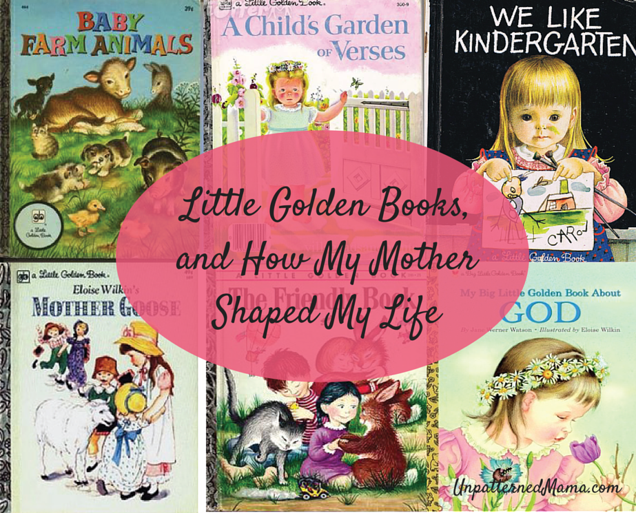 Some of my favorite Little Golden Books as a child.