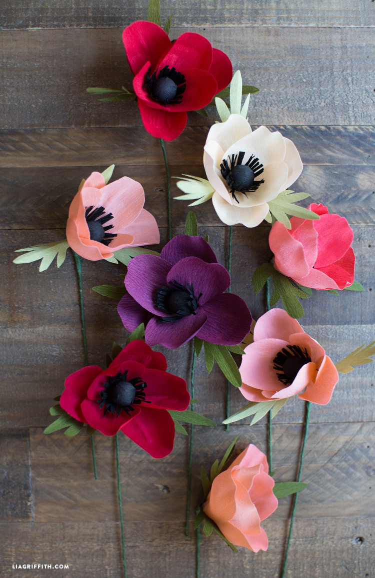 Valentines Day Crepe Paper Flower Workshop The Makery