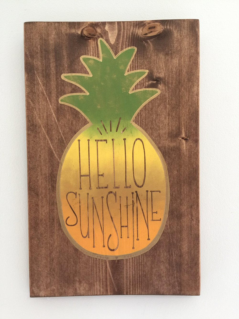 Hello Sunshine (Pineapple)
