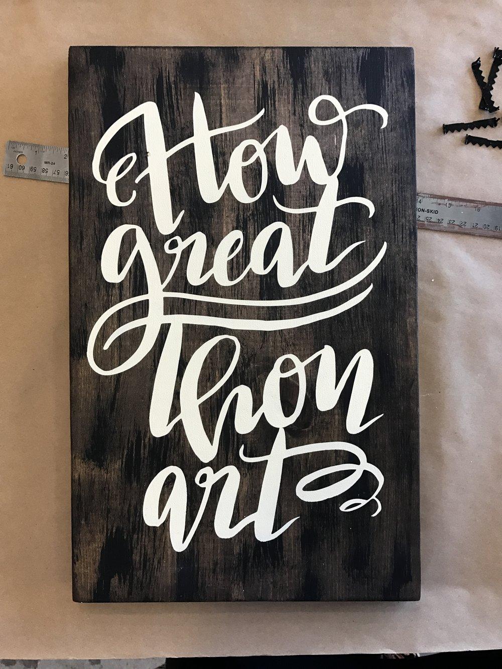 How Great Thou Art $34