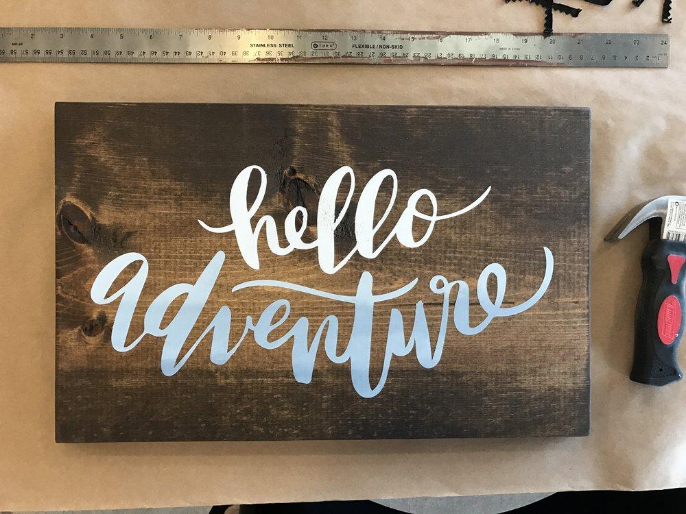 Hello Adventure $34