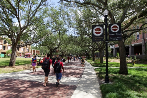 Florida State Campus Tour Dates