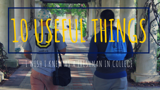 college tips for incoming freshman