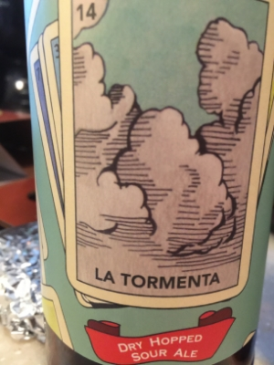 La Tormenta Sour Ale   Sour Ales have become Josh's new favorite beer. The flavor from La Tormenta isn't over powering with the sourness, it is subtle and brings to mind tastes of not-quite-ripe fruit. A summer beer for sure. Take it out to the beach, drink it with your friends and have a good time.     Rating: 8.5/10
