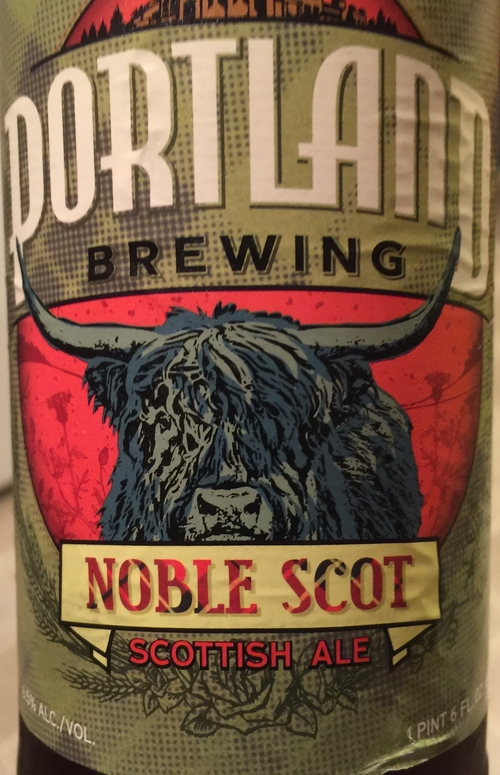 Portland Brewing Company Noble Scot   A perfect lounging beer for when you are sitting around the camp fire with your buddies...and that one really hot chick. With hints of peanut butter toast flavors, this beer will leave you wanting more.  Rating: 8.25/10