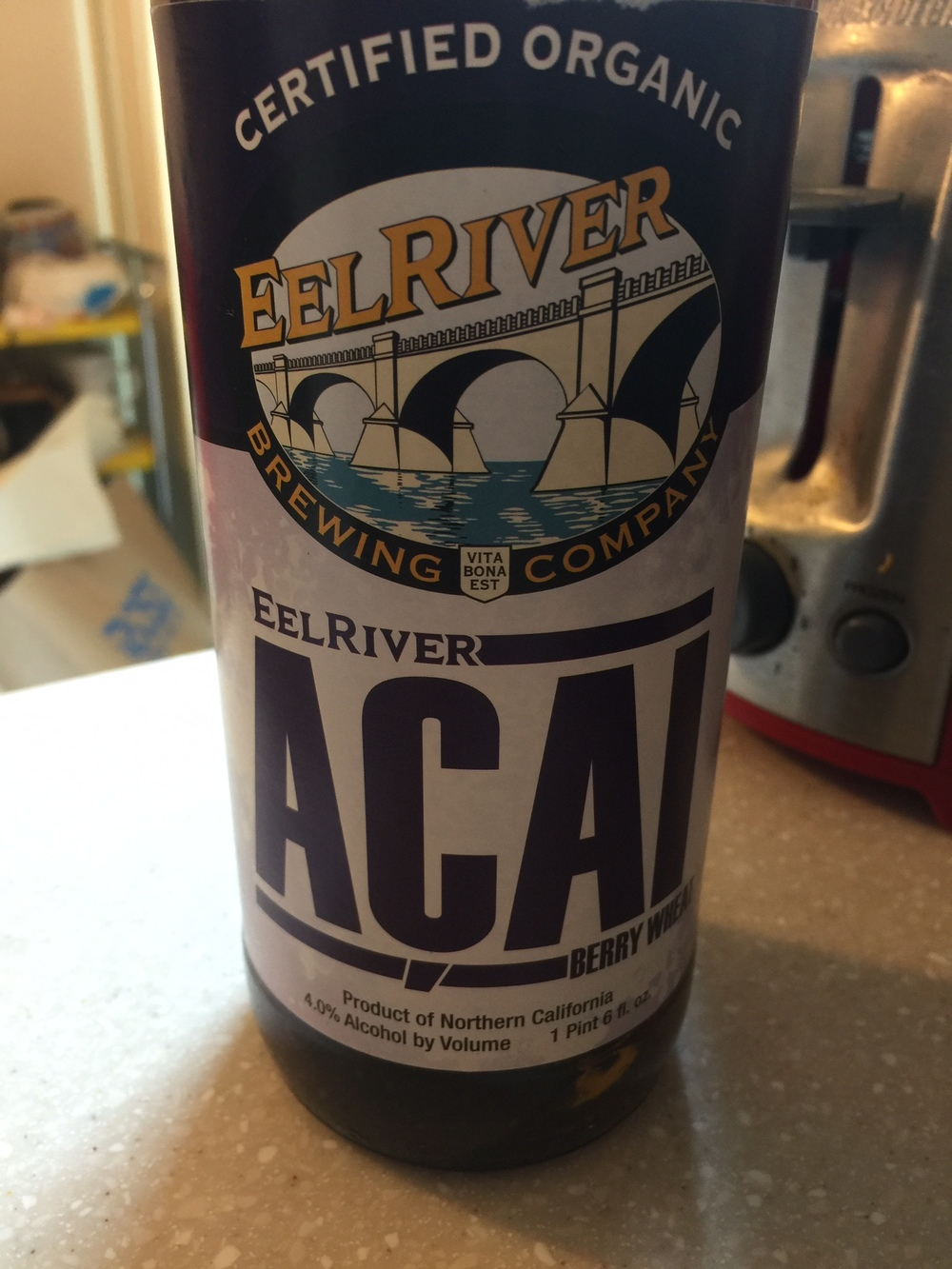 Eel River Acai Berry Wheat Ale