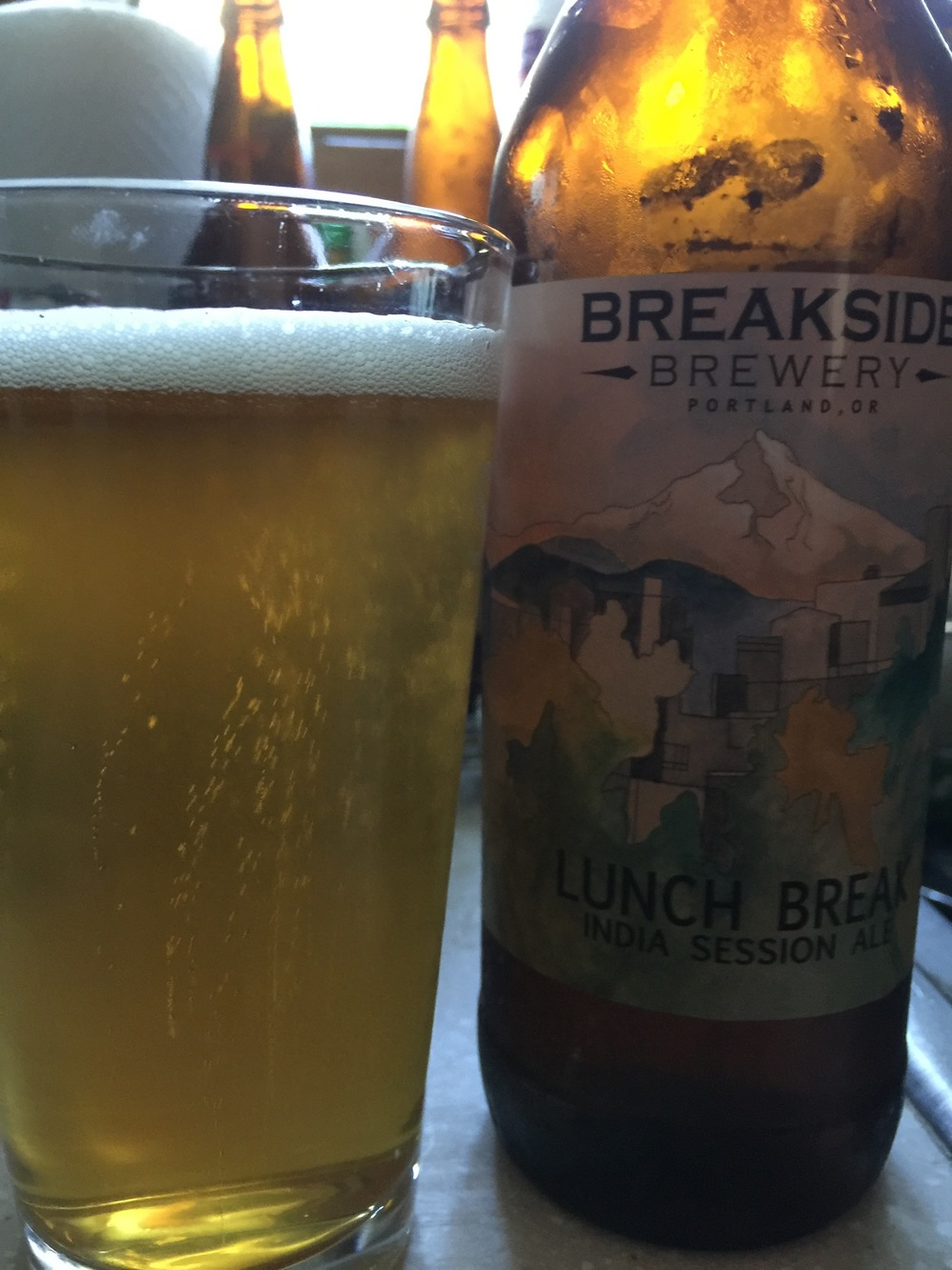 Breakside Brewery Lunch Break Session Ale