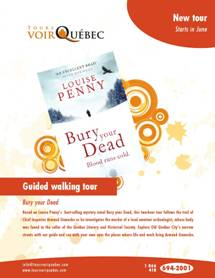 Louise Penny Walking Tour