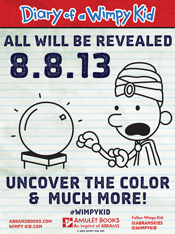 Wimpy Kid Uncover the Colour & Much More!