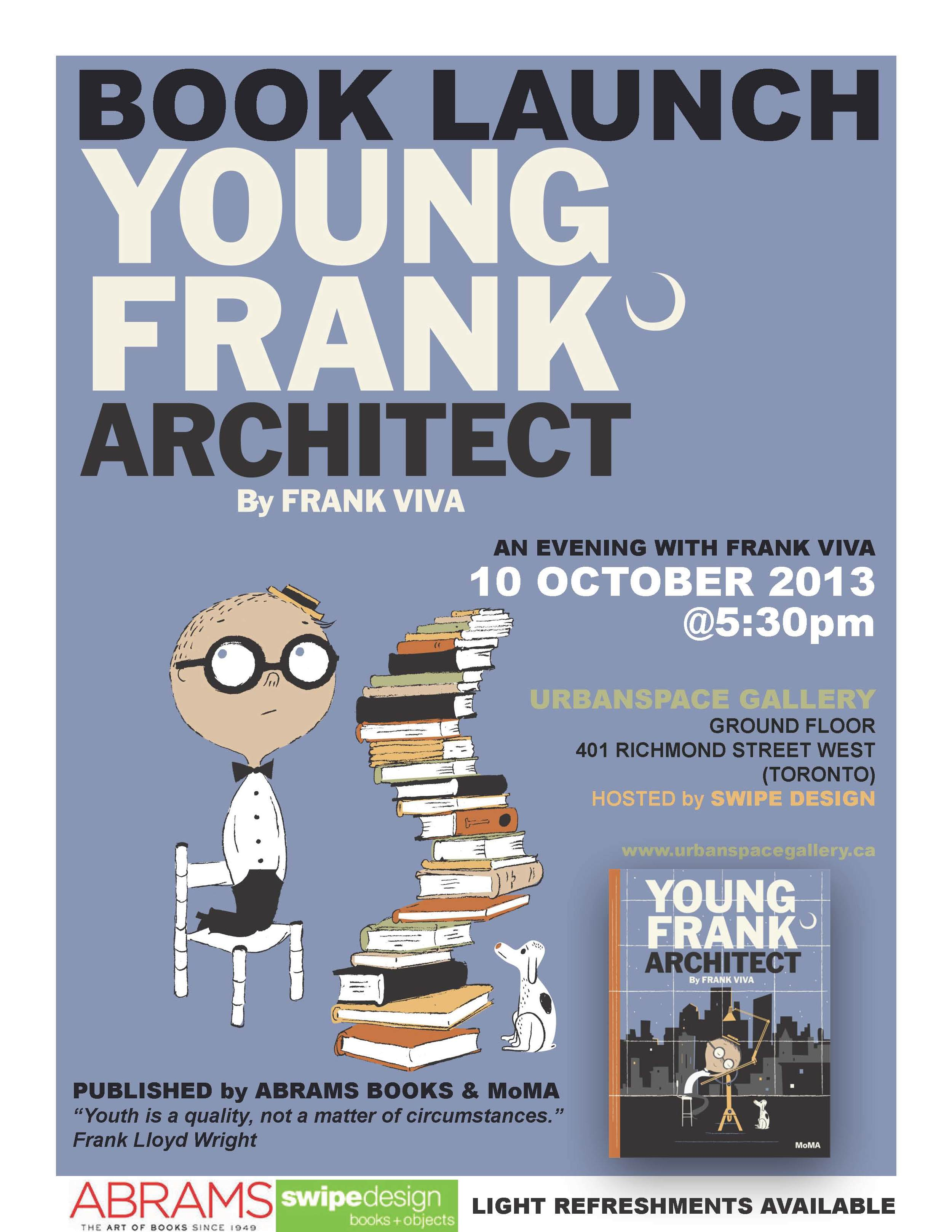 Frank Book Launch