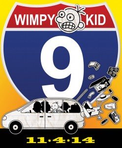 Look for Wimpy Kid Book 9 in November 2014!