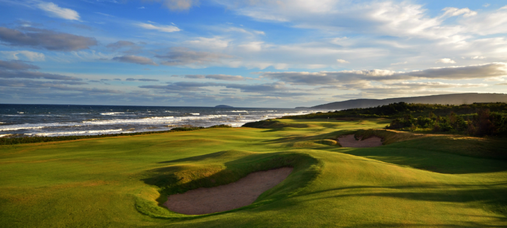 Cabot Cliffs in Nova Scotia, Canada / Photo by Jacques Filippi