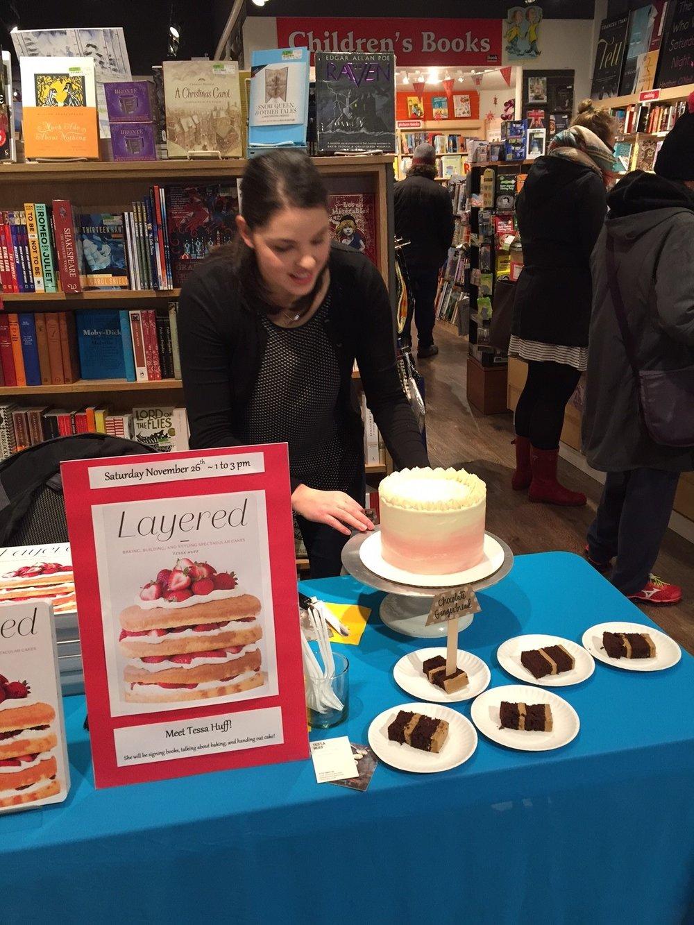 Tessa Huff Book warehouse Nov 2016 2.jpg