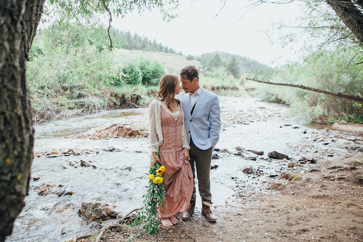 Colorado Engagement | Forever Cole Events | River Bouquet