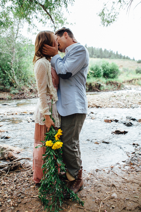 Colorado Engagement | Forever Cole Events | River Smooch