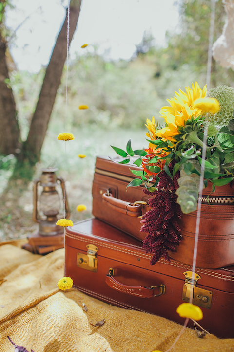 Colorado Engagement | Forever Cole Events | Suitcase Details