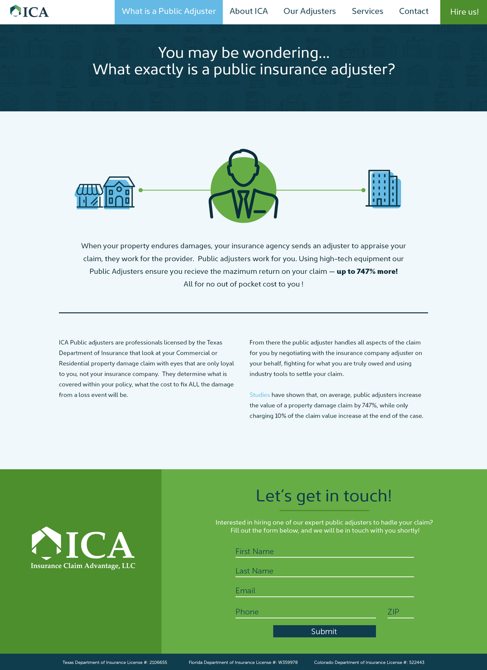 ICA What is a public adjuster?