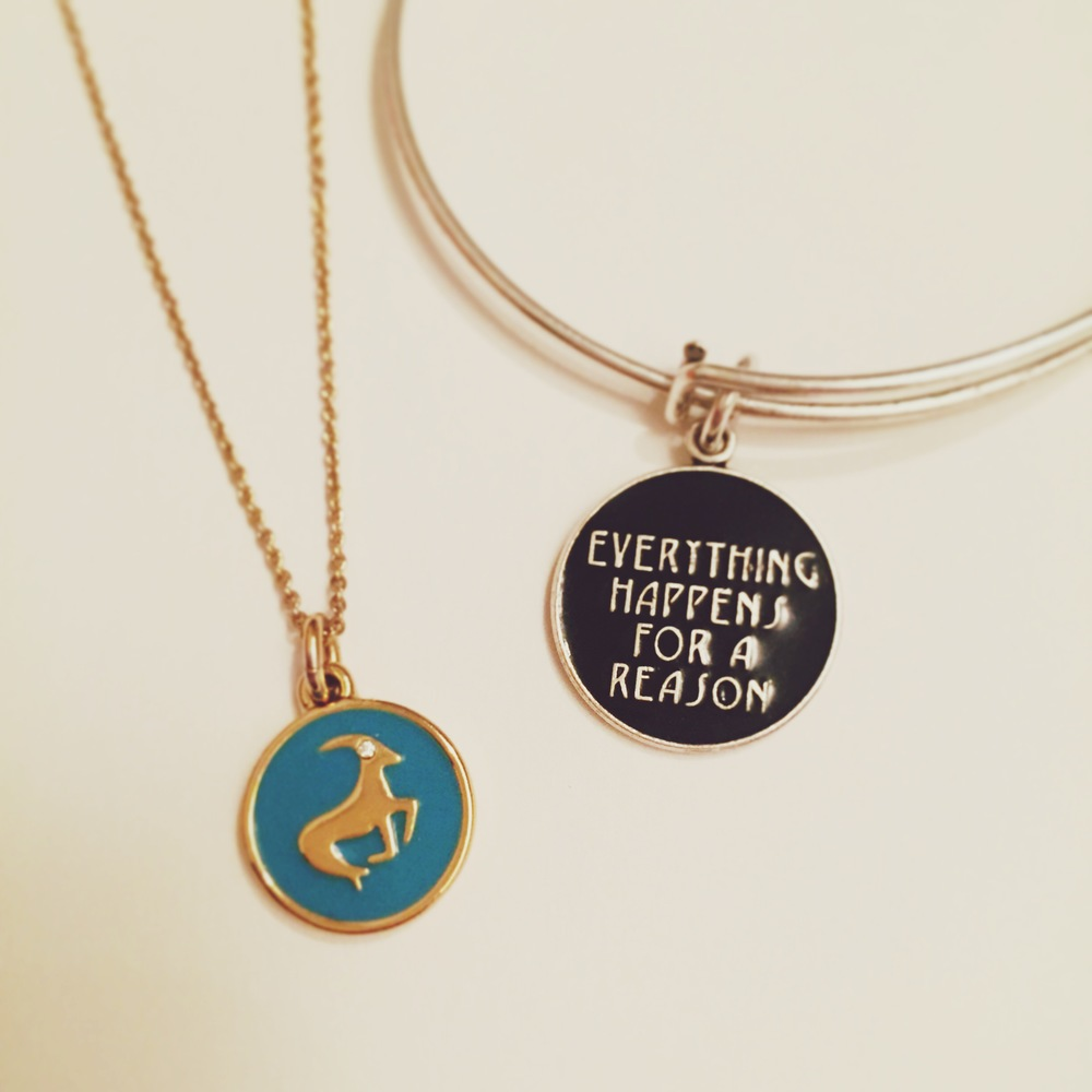 Capricorn by Kate Spade: She is One Smart Cookie; Alex & Ani: Trust in Fate, and Allow Life to Take Its Course.