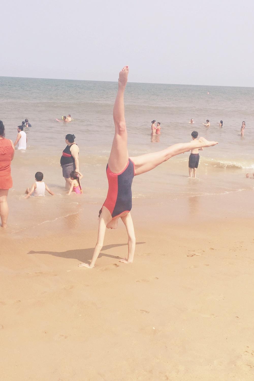 cartwheels in the Atlantic