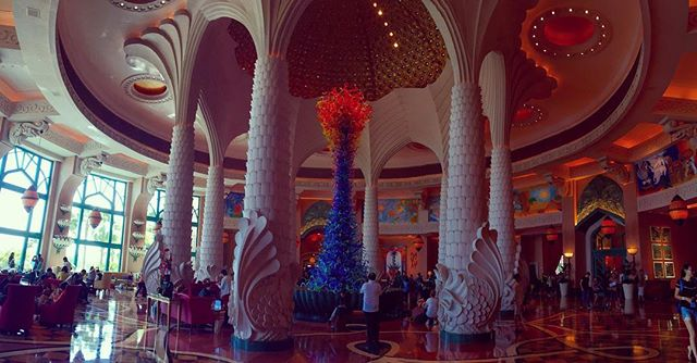 The lobby is unreal...