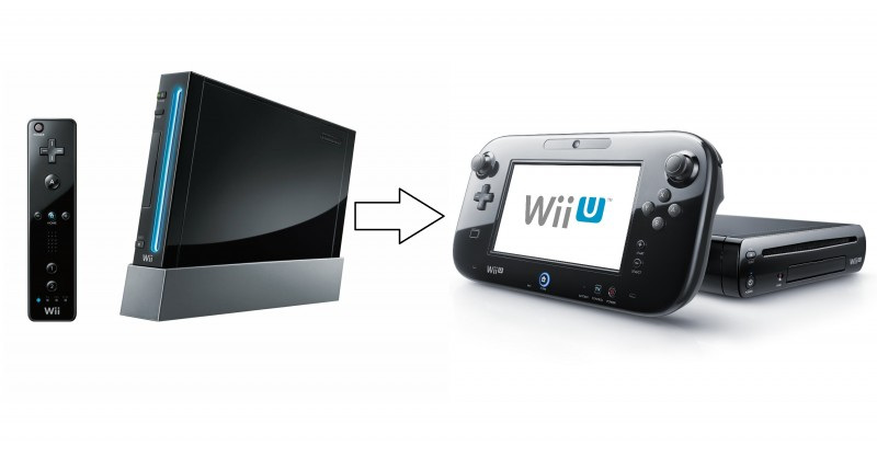 Wii (left) and Wii U