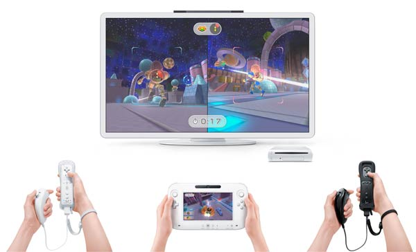 Asymmetric multiplayer on Wii U
