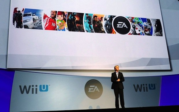 John Riccitiello at Nintendo's E3 2011 Press Conference