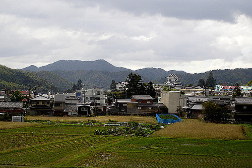 Miyamoto's hometown of Sonobe