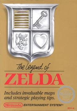 Boxart for the original Legend of Zelda