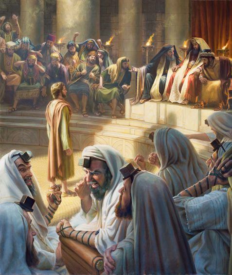 Stephen before the Sanhedrin
