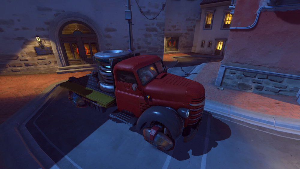 Dorado payload at the start of the map